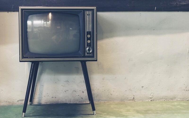 NBAをテレビで見るイメージ